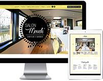 Logo & Site Web Salon Mouch'