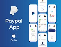 Paypal App UI/UX