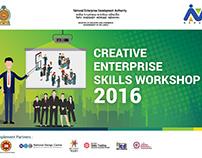 Creative Enterprise Skills Workshop - 2016