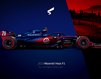 2018 Maserati Haas F1