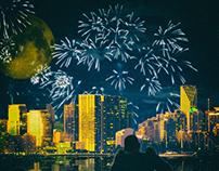 Fireworks City Vibe