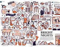Feature Illustrations - Metro Mag