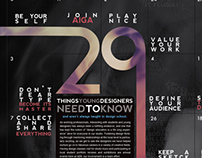 29 Things Poster Redesign