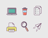 Office Stuff Icons
