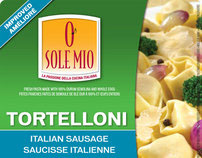 O Sole Mio New Packaging / Advertising