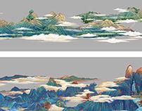 青绿山水——CG版