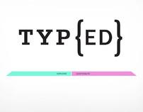 Type{ed}