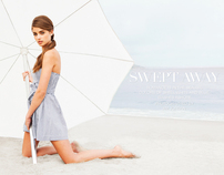 """SWEPT AWAY"" EDITORIAL FEATURING SUPERMODEL TAYLOR HILL"