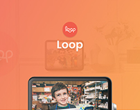 Loop Landing Page Redesign Concept