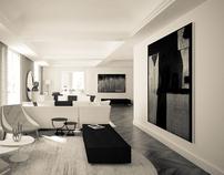 Luxury Apartment in Rome / CG WORK