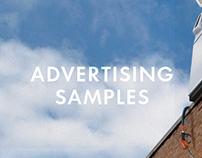 Print Advertising Samples