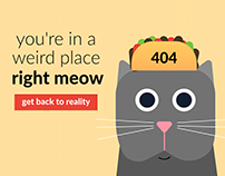 Taco Cat 404 Page