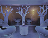 Tree Sculpture for Spa
