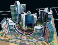 Hilton-Doha-Multi-Commercial-Complex-Qatar-70,000 sqm