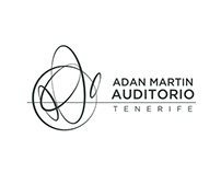 Visual Identity for Adan Martin Auditorio, Tenerife