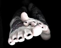 koki's feet