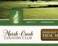 WEBSITE DESIGN: Marsh Creek Trial Membership