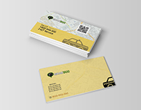 Business card for taxi