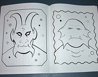 Creature Chaos Coloring Book