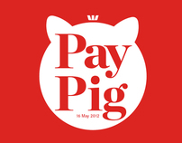 Pay Pig. App for iphone. (2011)