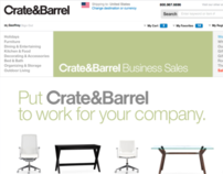 Crate & Barrel Business Sales