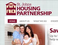 WEBSITE DESIGN: St. Johns Housing Partnership