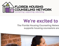 WEBSITE DESIGN: Florida Housing Counseling Network
