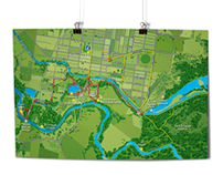 Bike & Hike Trails Map