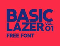 BASIC LAZER - Free Font