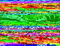 360 Glitch Video