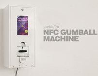 Digital Gum Goods - The NFC Gumball Machine