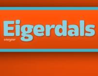 Eigerdals, a new soft sans.