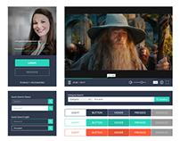 UI Design for Web - Mockup