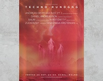 Posters for Techno.rundgng