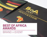 Best of Africa Awards - Brand + Event