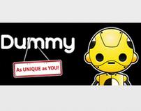Branding Package For Crash Test Dummy