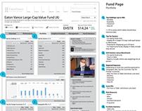 Eaton Vance // Financial Information Platform Redesign