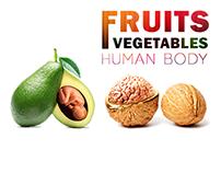 Fruit-Veg-Human//amazing Nature
