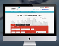 Travel Website for Hotels and flights booking