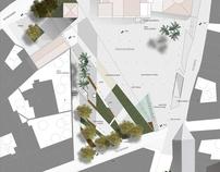 Parkosítás- Piazza San Giorgio, Quratucciu, Szardínia
