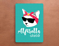 Alfirella Ateliê - Branding - Graphic Design