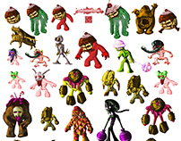 Candy Zomby Army