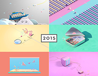 One Hour 3D Illustrations 2015