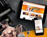 Empório Lessa Store. Website development
