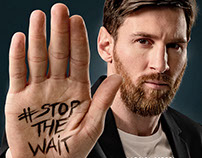 Tour n' Cure - #stop_the_wait -Lionel Messi-