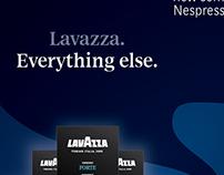 Lavazza Nespresso compatible ADV campaign