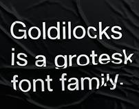 SK Goldilocks Typeface