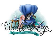 Logobanner 'Wörterkatze'