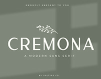 FREE | Cremona Modern Sans Serif