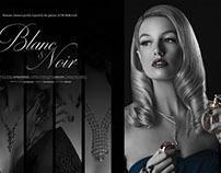 Fashion Spread - Blanc & Noir